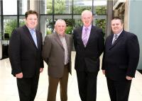 Shay Livingstone, Finbarr McCarthy, Gerard Lane & Kieran McGeary at Sports Award Presentation