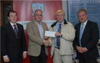 League Cheque Presentations - Bishopstown