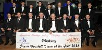 Muskerry Junior Football Team of the Year 2015