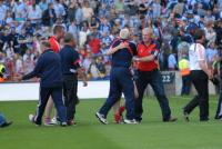 Celebrations at the end Cork V Dublin