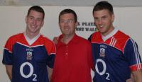 Eoin Cotter, Rory Noonan and Eoin Cadogan