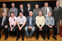Hurling Referees  who received presentations from Coiste na nOg