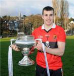 William Egan with the Fitzgibbon Cup 2012