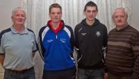 Jn O Mahony (Macroom), Ml Twomey (Kilshannig), Ciaran O Regan (Ballyhea), Barry Aherne (Avondhu)
