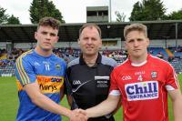 Cork v Tipperary Munster U20 FC Q/F 2018