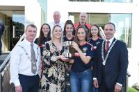 Rebel Og Award May -18 Cork minor camogie team