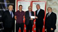 F & H Leagues Cheques Presentations