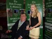 Vera Foley St Vals June Winner Auld Triangle Muskerry Sports Star Award