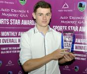 Muskerry/Auld Triangle May - 17 Award for Mark Coleman