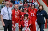 PRO Gerard Lane & Catherine Tiernan O2 with Prizewinners