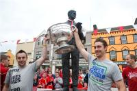 Sam Maguire at home in Dunmanway!