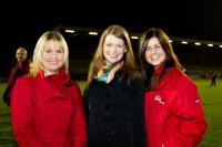 Tracey Kennedy, Fiona Darcy (RedFM CEO) & Debbie O'Neill of RedFM at SHL Final