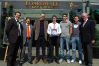 Boardwalk Award for Sean Kiely
