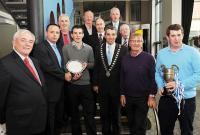 Belgooly Receive Southside Sports Award
