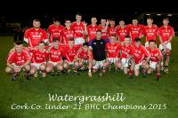 Watergrasshill v Kilworth U21'B'HC Final 23.10.2015