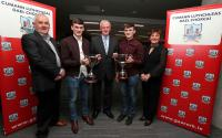 Medal presentations to victorious Cork Inter-County teams