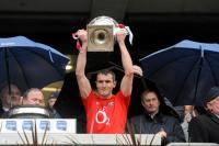 Graham Canty Lifts the Allianz League Cup