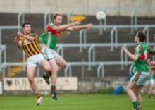 Action from the Junior Football Championship C Final clash between Spink and Camross at O'Moore Park.