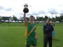 2011 Laois MHC B Winning Capt Gavin Tynan