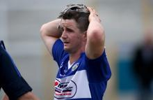 James Walsh after Laois exit the hurling championship