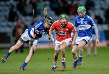2014 NHL - Laois v Cork - Brian Stapleton and Tommy Fitzgerald