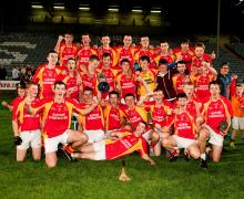 2013 Laois Shopping Centre Minor Hurling Champions - The Harps Gaels