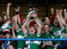 2013 Laois Shopping Centre SFC Final - Bruno McCormack lifts Delaney Cup