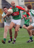 2013 Laois ACFL Division 1 Semi Final - Birdy Hand of Graigue and Barney Maher of Stradbally