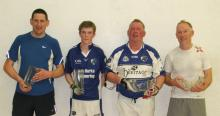 Division 2 Finalists: Bernard Graham and David Doheny who were defeated by Frank Nolan and James Doyle.