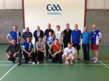 Finalists and Leinster One-Wall organising committee
