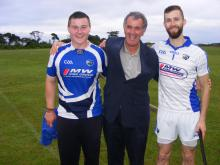 Eoin Reilly and Alan Kelly of Abbeyleix and Laois - 2014 Leinster Poc Fada Champions at Senior and U16