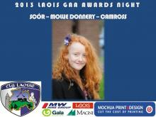 2013 Laois GAA Awards - Scor - Mollie Donnery - Camross