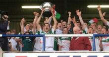 Alan Delaney - Rathdowney Errill lifts the Bob O Keeffe
