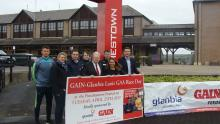 Pictured at the launch of the GAIN/GLANBIA Laois GAA Race Day Fundraiser in Punchestown on Tuesday, April 25th are L-R: Colm Beg