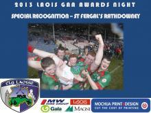 2013 Laois GAA Awards - Special Rec - St Fergals Rathdowney