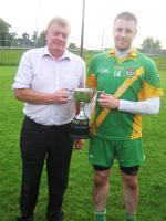 2011 Laois MHC B Winning Capt Sean Tynan