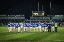 Laois team before Louth game
