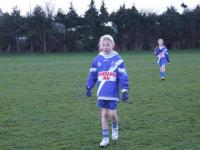 Under 11 girls First Game