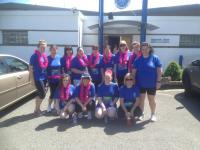 Annes Ladies take part in Mini Marathon