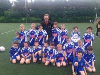 St Annes Juveniles Training Session with the Gooch