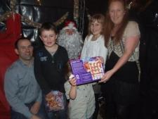 Santa and Juvenile Award Night