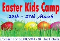 Easter Camp 25th -27th March