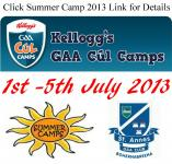 Summer Camps Back!