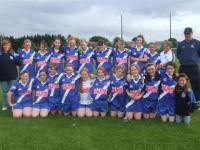 last years under 14's ladies team