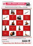 Fork Truck Services