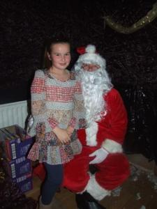 Santa and Juvenile Award Night