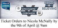 Dublin v Cork Ticket Info