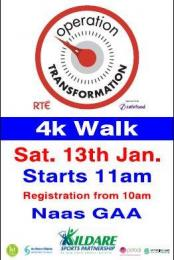OPERATION TRANSFORMATION WALK 10 AM SATURDAY 13TH JANUARY