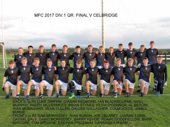 MINOR FOOTBALL CHAMPIONSHIP TEAM 2017