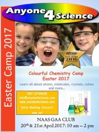 ANYONE 4 SCIENCE EASTER CAMP